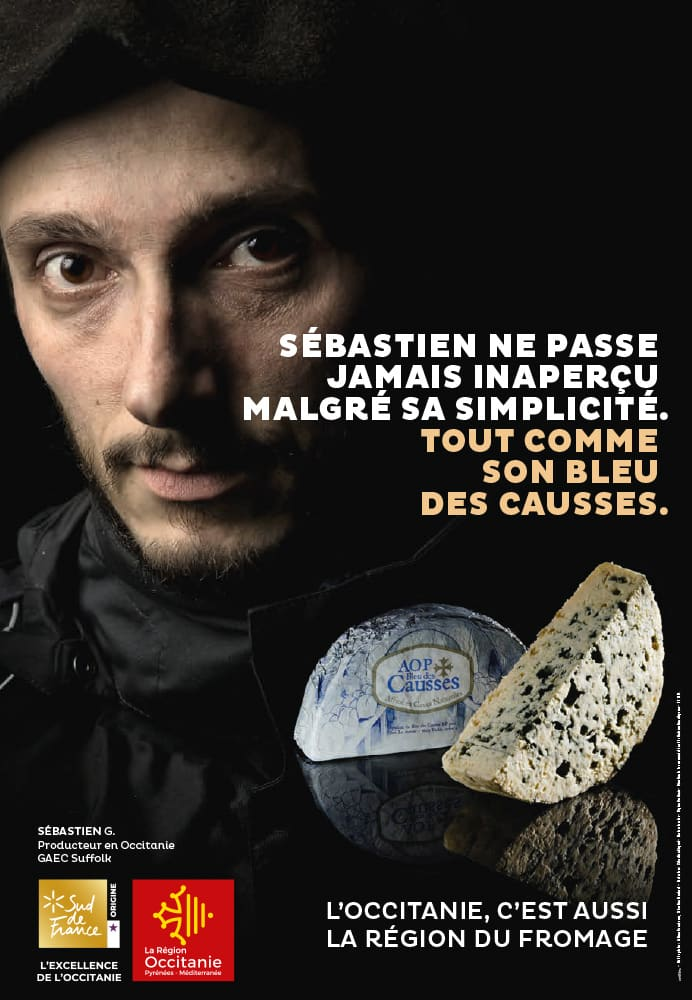 Campagne Photo campagne fromage BLEU DES CAUSSES