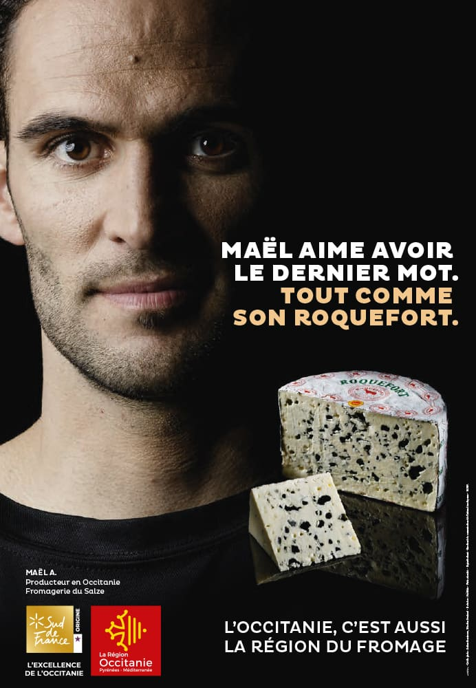 Campagne Photo campagne fromage ROQUEFORT